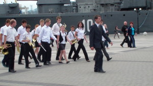 парад фестиваль духовых оркестров (Новороссийский Берег) в г. Новороссийске 2011