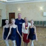 На просмотре в академию танца Б.Эйфмана