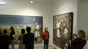 Выставка Павла Рыженко «Судьба Державы»