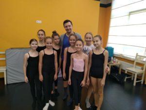 Мастер-классы по современной хореографии