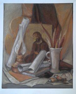 Выставка работ учащихся ко Дню славянской письменности и культуры