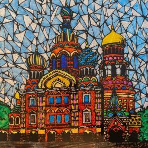 Онлайн выставка детских рисунков «Моя Россия»