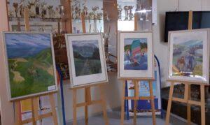 Выставка детских работ ко Дню России